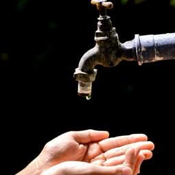 散水栓や水栓柱の水漏れで最も多い、パッキンのトラブル