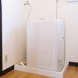 排水口の詰まり以外には洗濯機自体が原因になることも