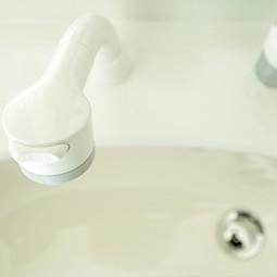 蛇口からの水漏れ