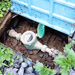 確実に水が止まる元栓
